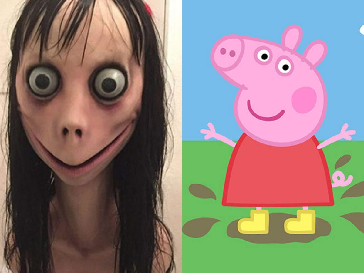Parents Alert The Dangerous Momo Challenge Has Hacked Peppa Pig Videos On Youtube Times Of India