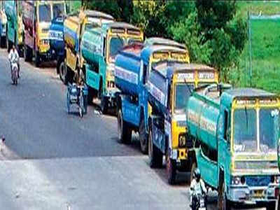 Chennai Metrowater to launch 90 more tankers   Chennai News