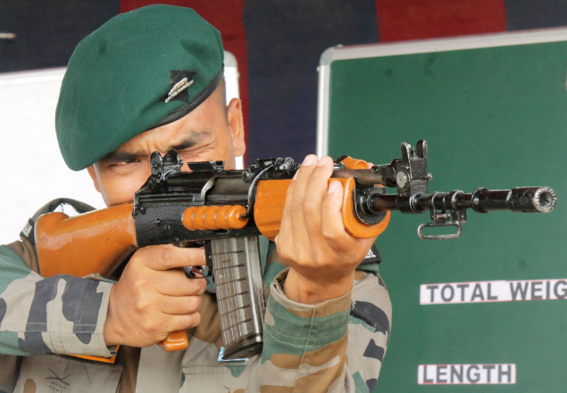 AK 203 rifle India: How AK-203, superior to INSAS, will end forces