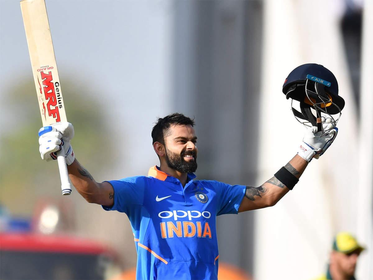 India vs Australia: Virat Kohli scores 40th ODI century | Cricket News -  Times of India