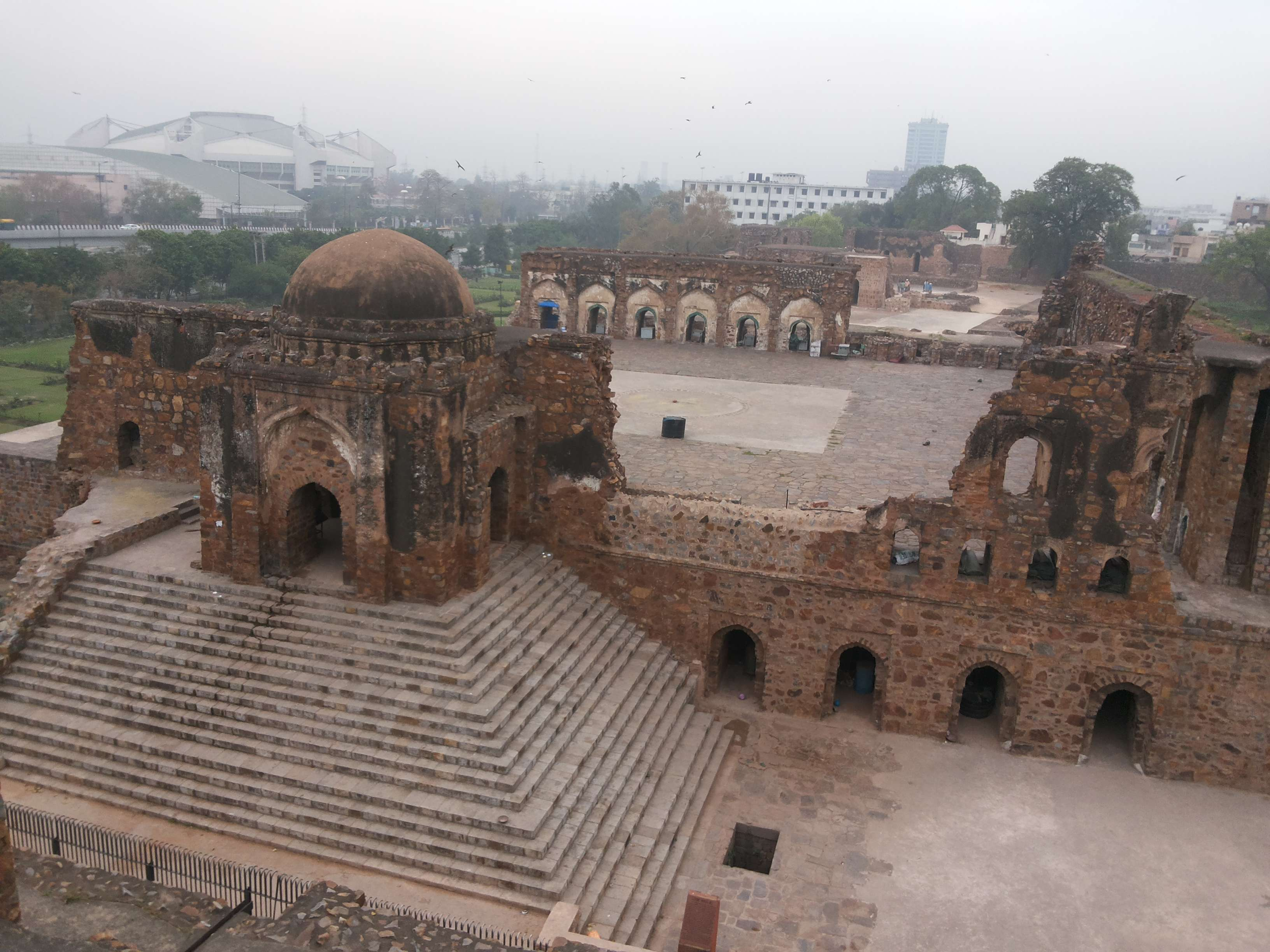 Feroz Shah Kotla Fort and its history with djinns