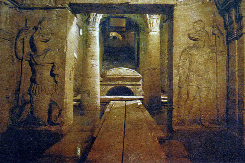Egypt completes restoration of Kom El Shoqafa catacombs