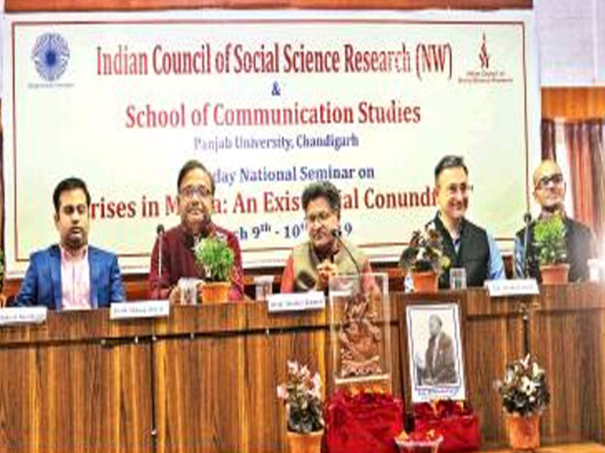 Chandigarh: Two-day workshop on media crises, fake news concludes