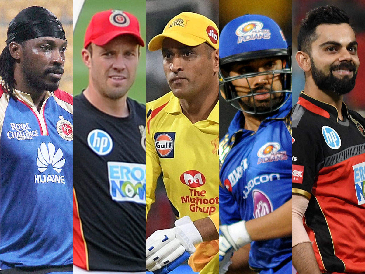 Most 6s in IPL: Players with most sixes in IPL history | Cricket News -  Times of India