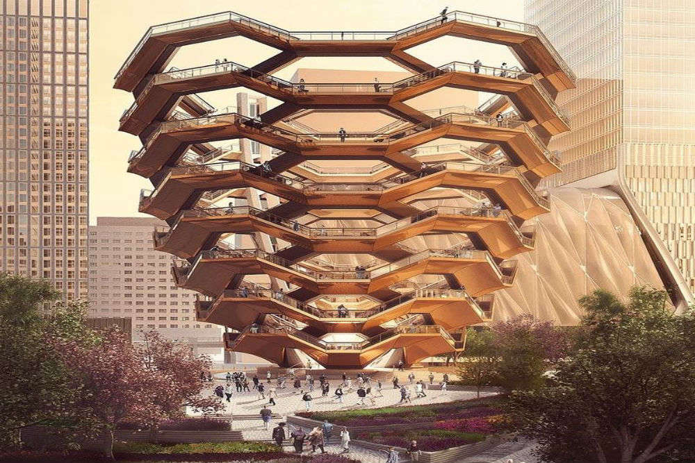 All about 'Vessel', New York's latest architectural marvel inspired by Indian stepwells