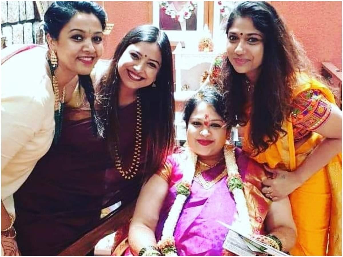 Surjan Lokesh S Wife Greeshma Looks Radiant At Her Baby Shower