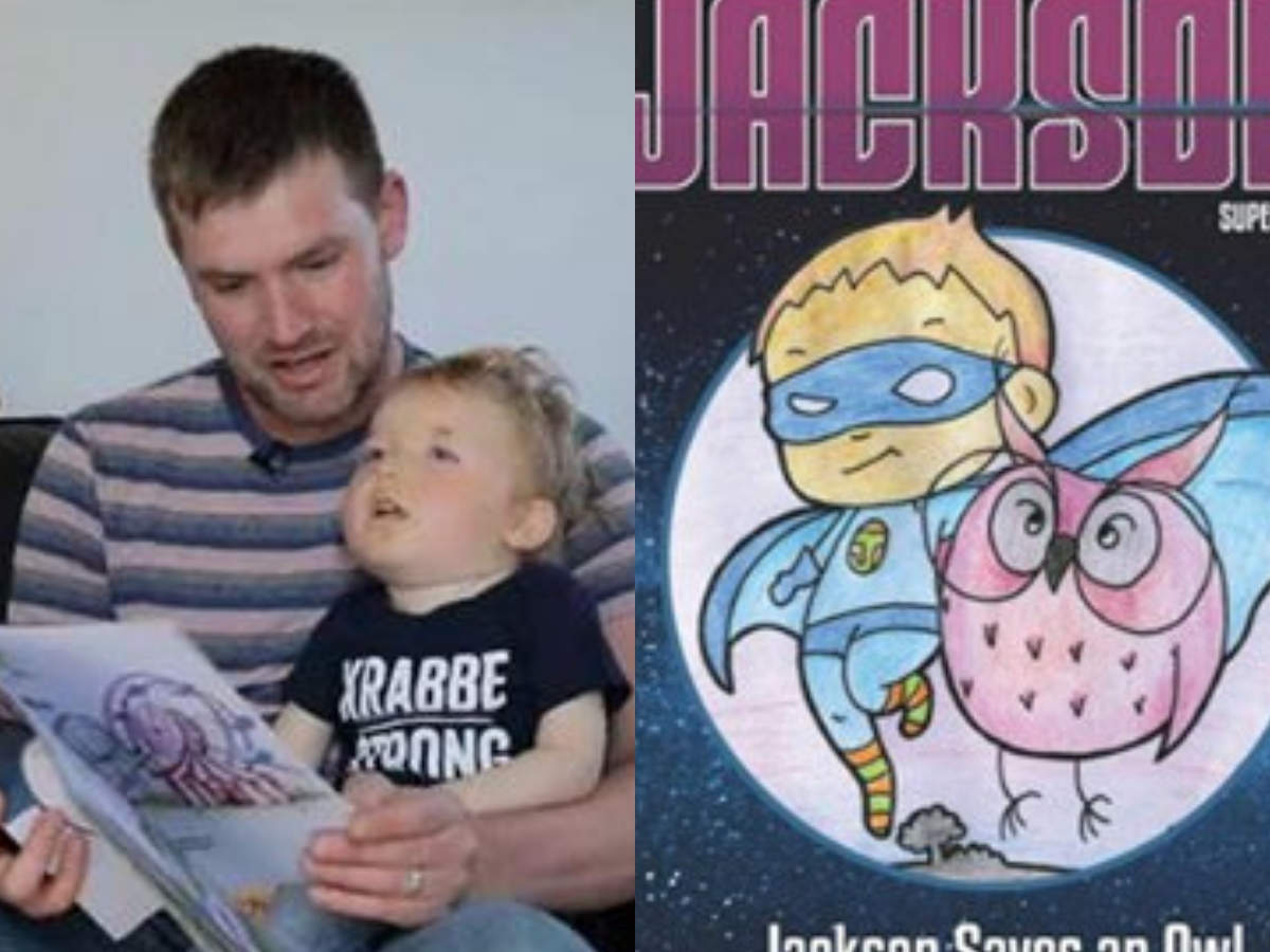 Dad turns his dying child into a superhero!