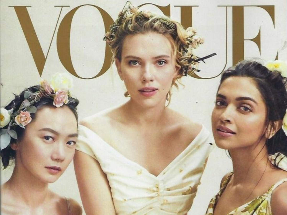 Deepika Padukone Just Featured On The Cover Of An International Magazine With Scarlett Johansson And It S Big News Times Of India
