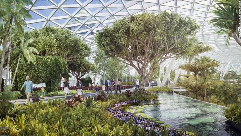Singapore's Jewel Changi Airport to be accessible from April 17