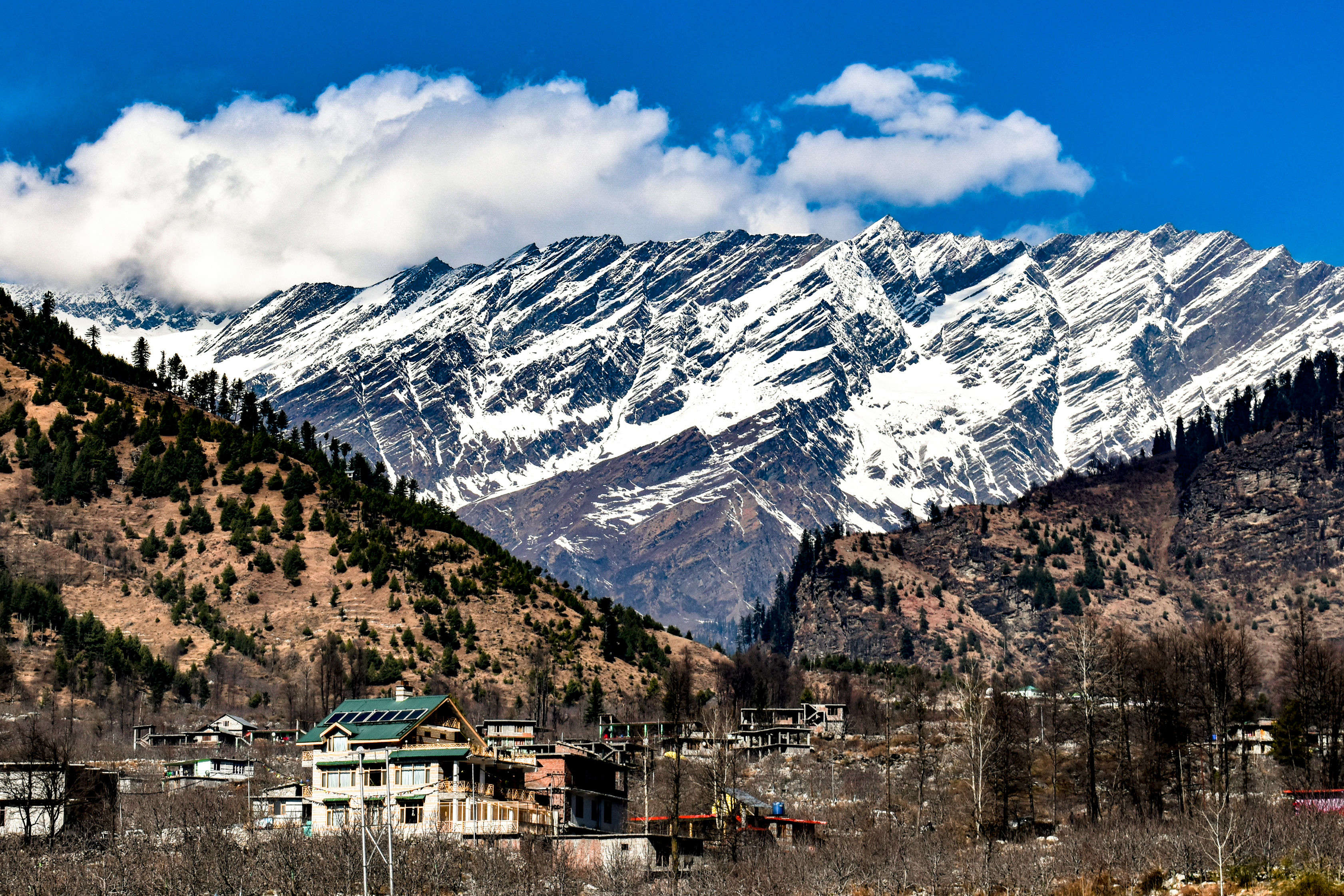 Fresh snowfall in Himachal Pradesh causes Dalhousie and other parts to freeze