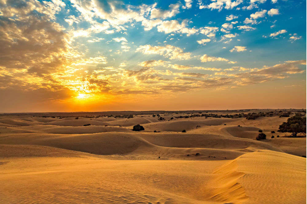 Do you know the epic story about the formation of Thar Desert?