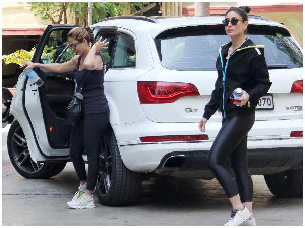 Kareena Kapoor Khan aces the gym look   Hindi Movie News - Times of India