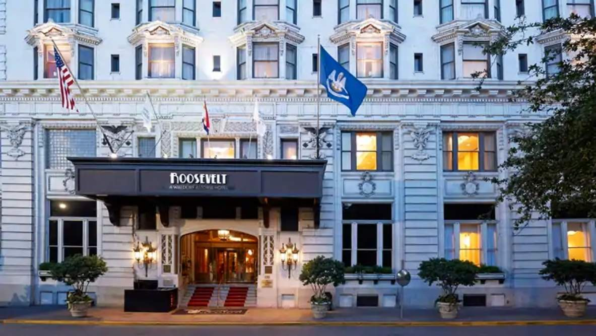 Return stolen items at this historic hotel in the US and get 7 free nights stay!