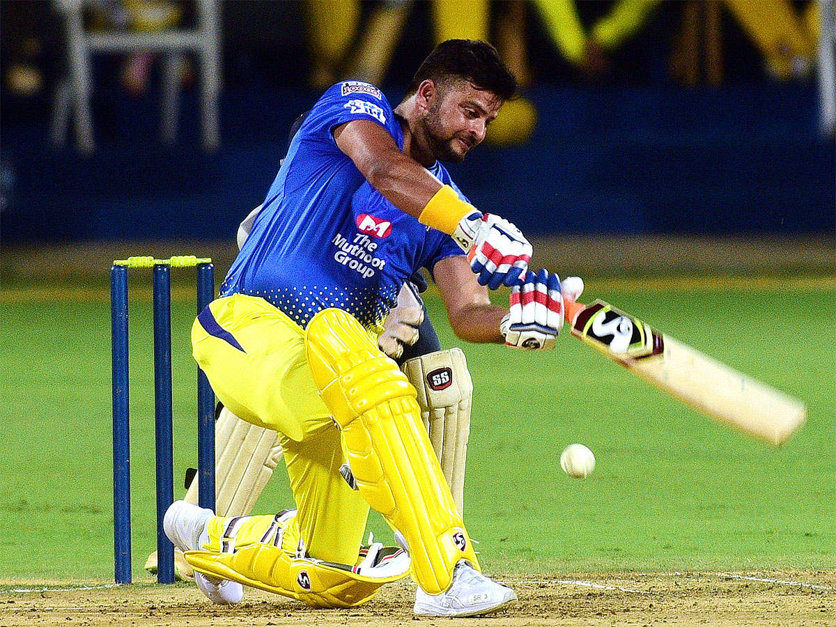 Suresh Raina shines as 12k turn up for CSK practice   Cricket News - Times of India