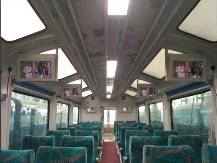 All mountain railways of India to soon have vistadome coaches