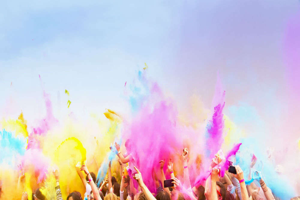 Holi parties in Bangalore for a colourful day out!