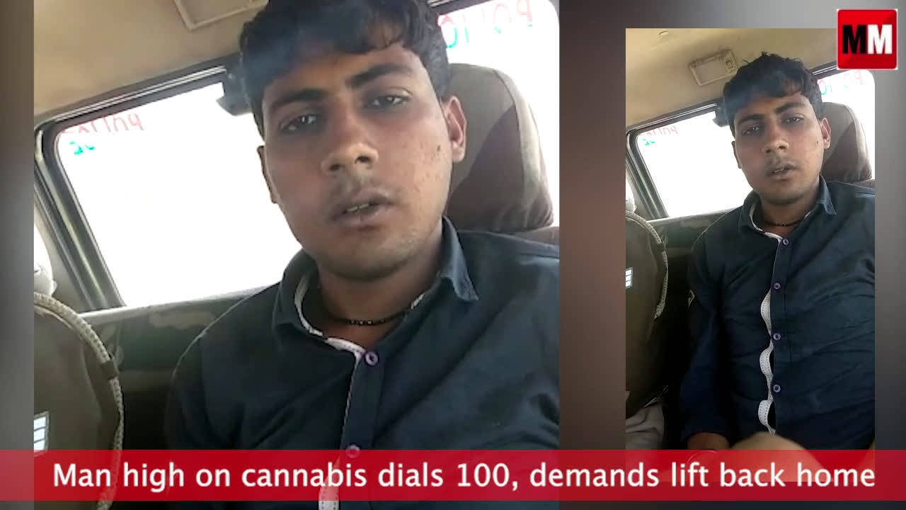 High on cannabis, UP man calls 100 for a lift back home