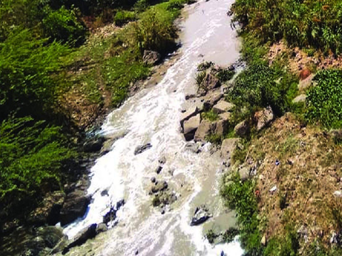 Image result for Drainage, effluent from Auranagabad flows into Jayakwadi