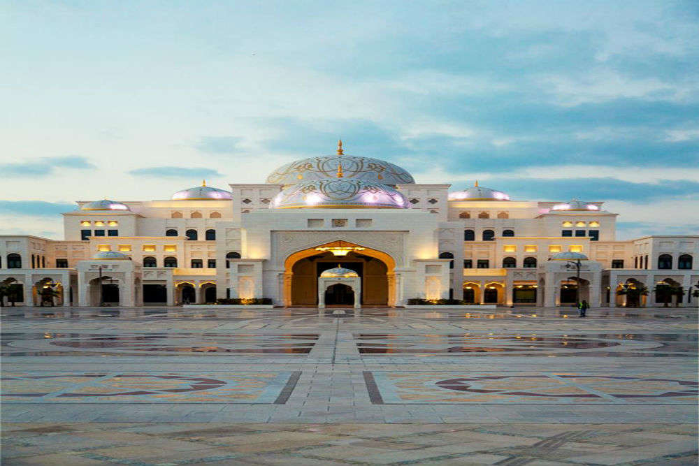 Palace of the Nation - Abu Dhabi's Presidential Palace opens its doors for visitors