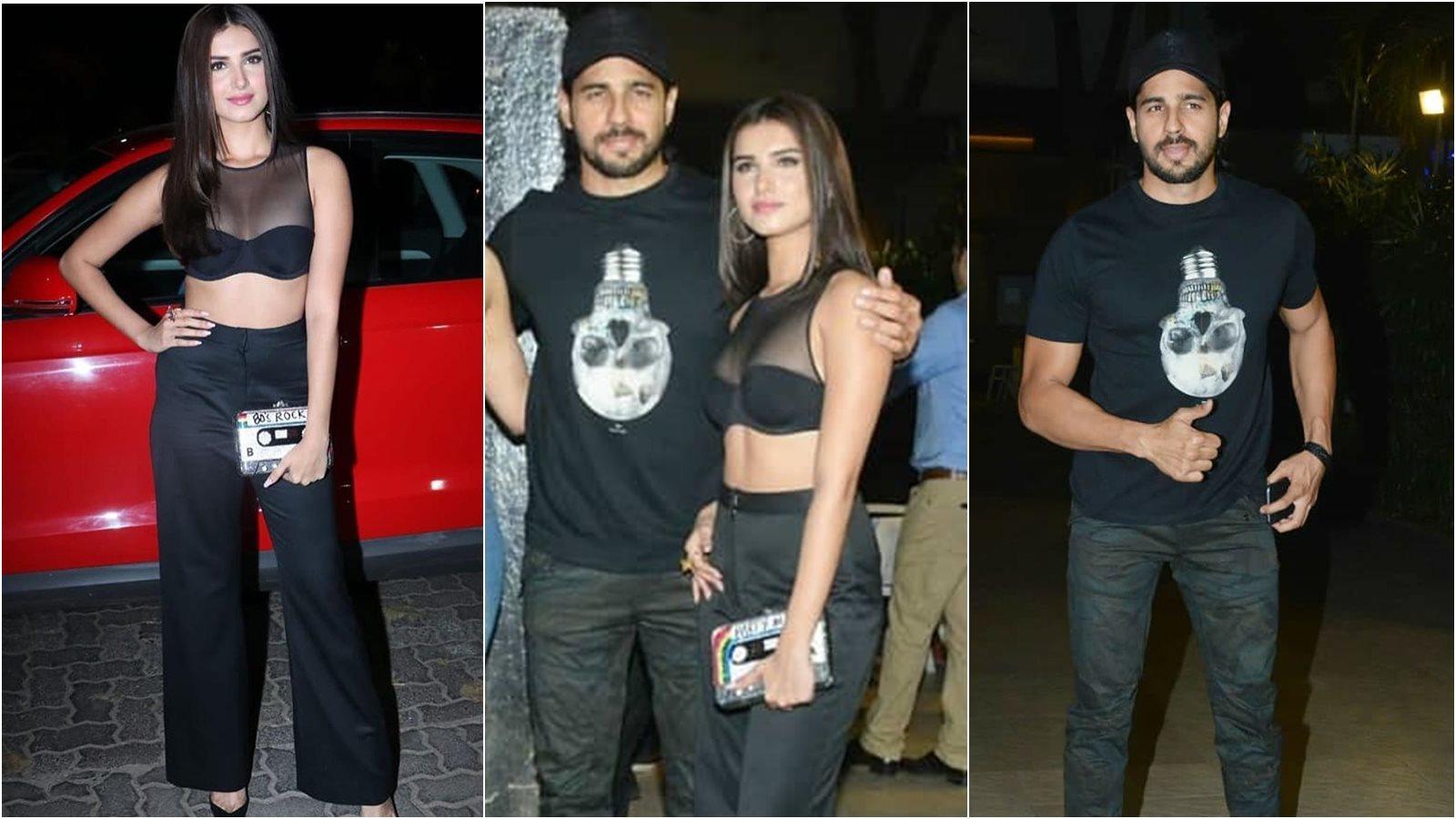 "Tara Sutaria Comments On Rumored Boyfriend ""Sidharth Malhotra"""