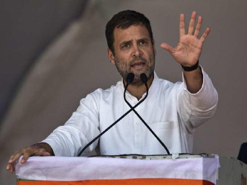 Minimum wage guarantee plan as main call board of Rahul Gandhi
