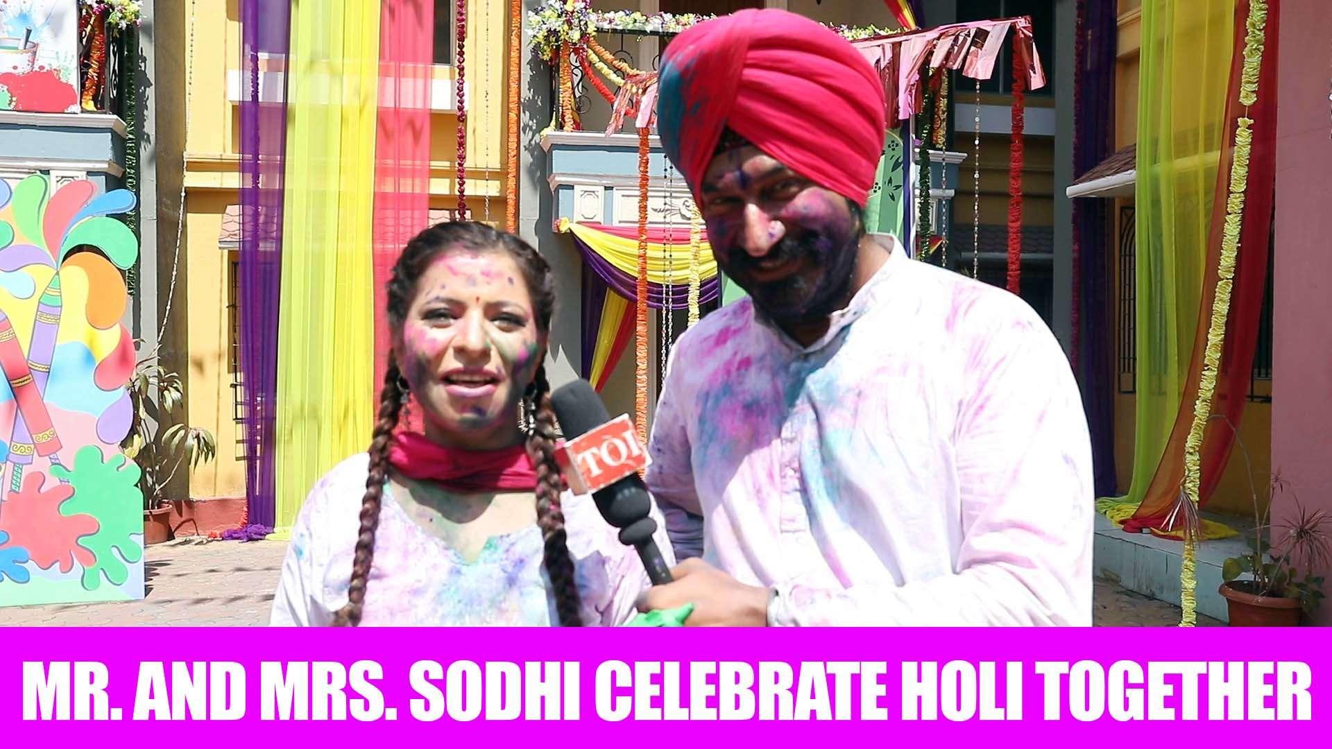 Taarak Mehta Ka Ooltah Chashmah: Holi fever grips Mr  and Mrs  Sodhi