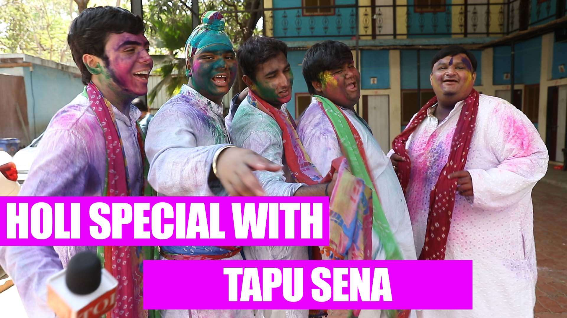 Taarak Mehta Ka Ooltah Chashmah's Tapu Sena urges fans to not waste water  this Holi