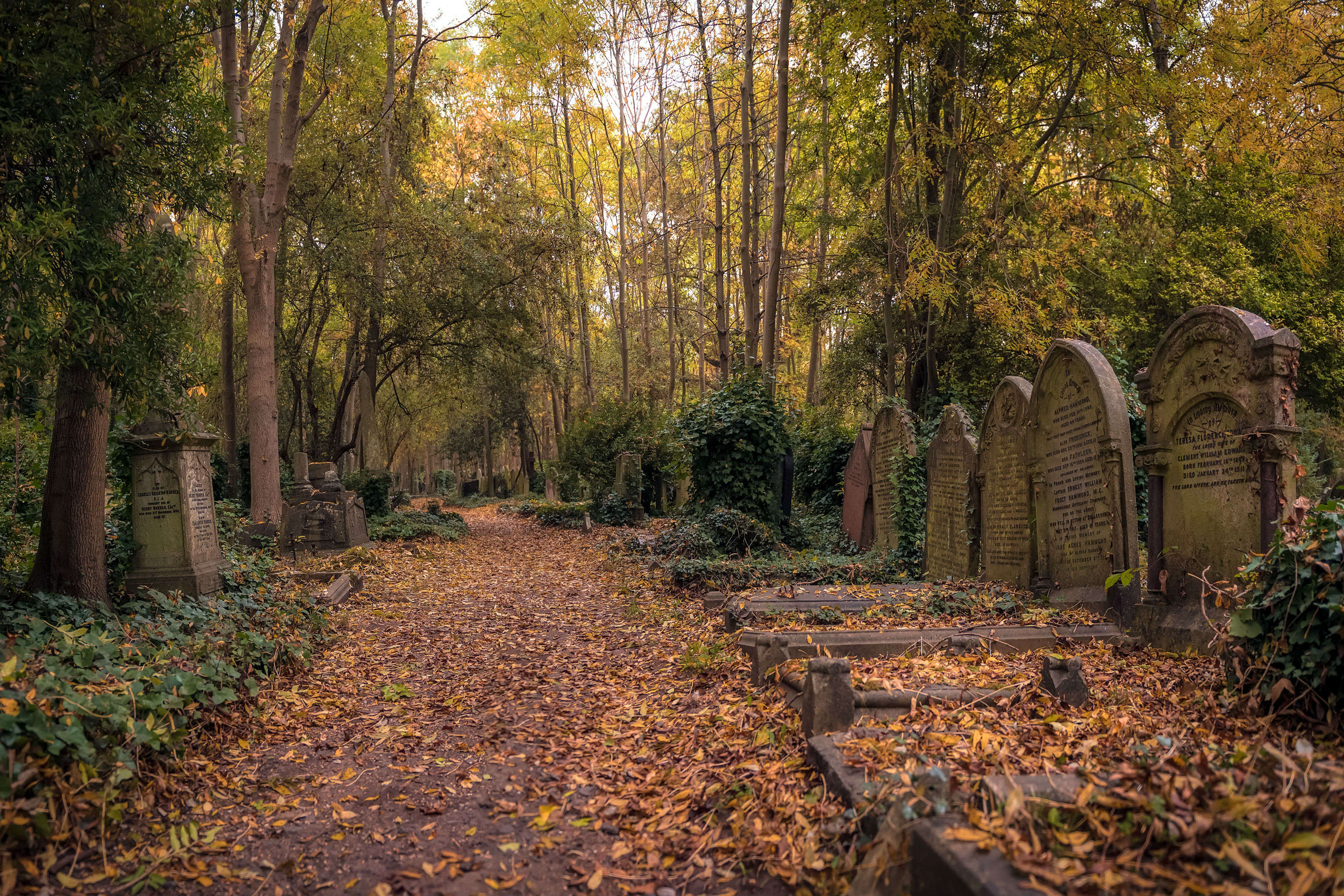 The most popular cemeteries in the world and its residents