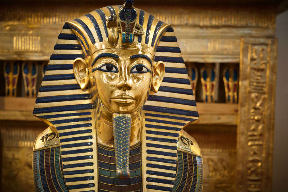 Head to Paris for a grand exhibit display from Tutankhamun's tomb
