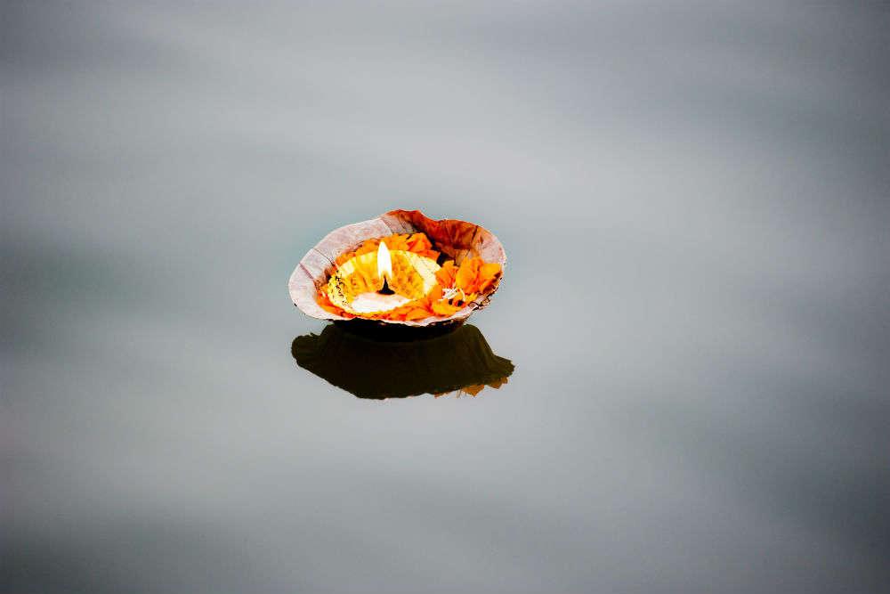 The reason why thousands of people visit the 50 feet deep Lolark Kund in Varanasi