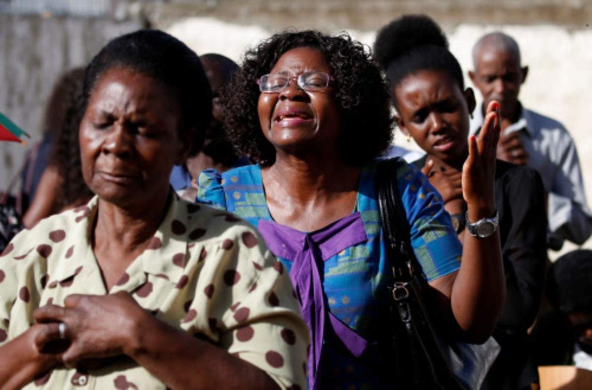 The death toll in Mozambique rises to 446 after the cyclone minister