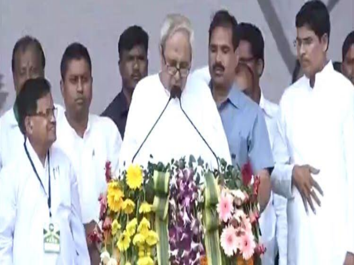 BJD will play a key role in government formation in the center Naveen Patnaik