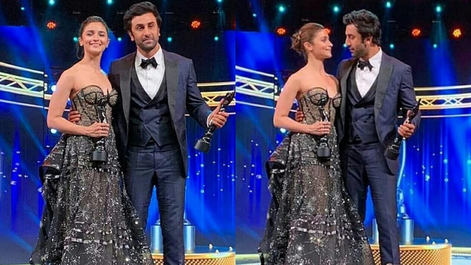 64th Vimal Elaichi Filmfare Awards 2019: Alia Bhatt says 'I love you' to  Ranbir Kapoor