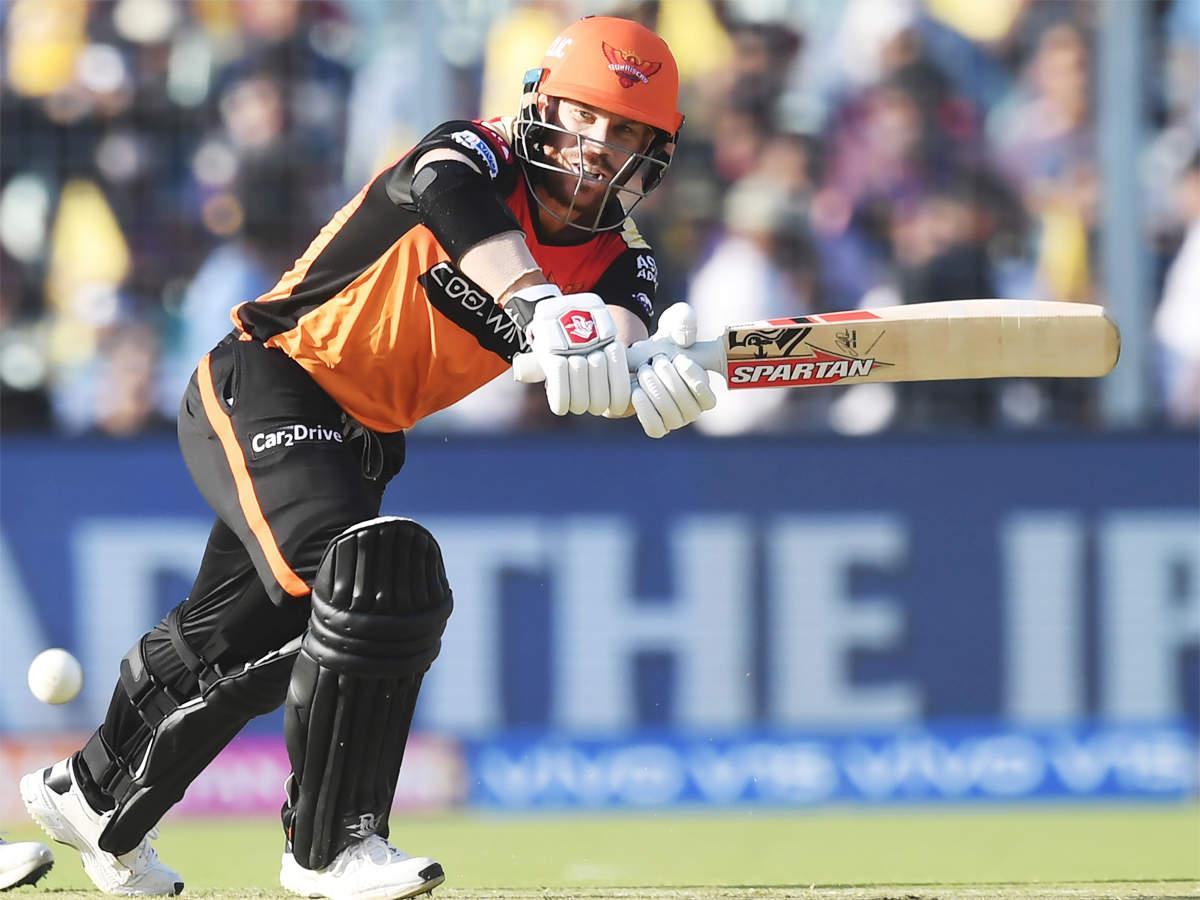 IPL 2019 David Warner throws fifty on IPL comeback
