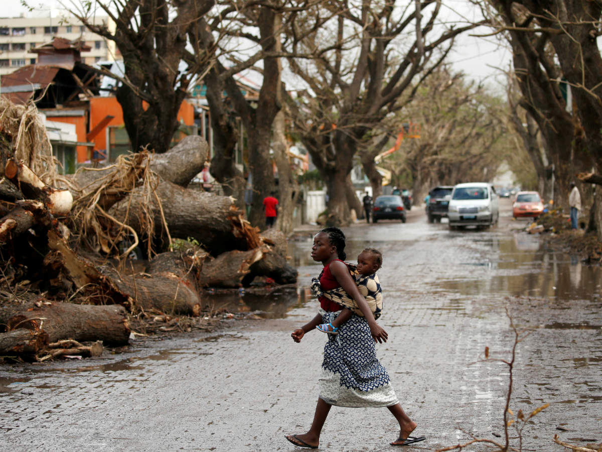 The death toll in Cyclone Idai in Mozambique rises to 446