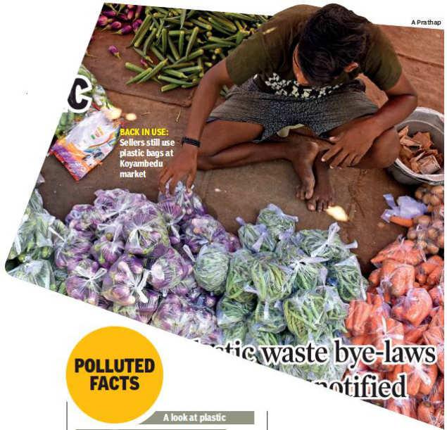 Three months on, Chennai's plastic ban in tatters | Chennai News