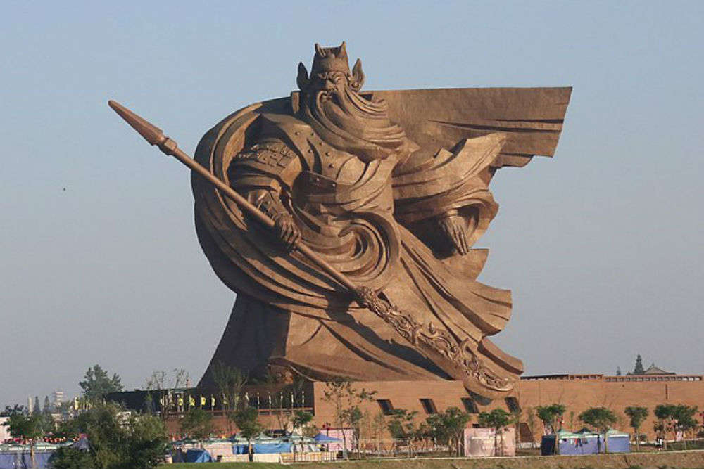 This massive sculpture in China should make to your bucket list