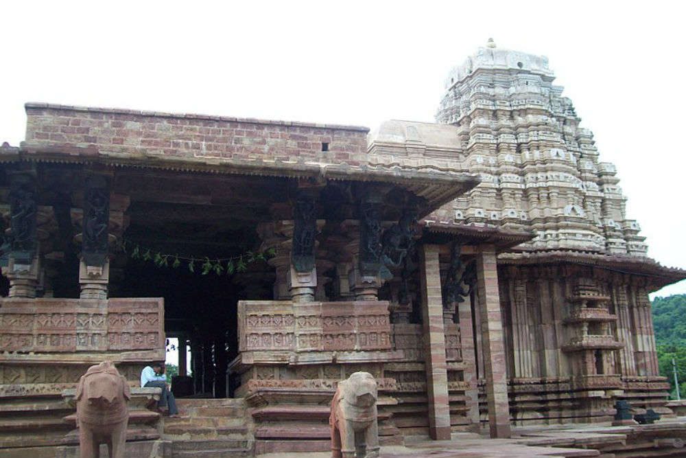 Bricks that float! That's the stuff this 13th century Shiva temple is made of!