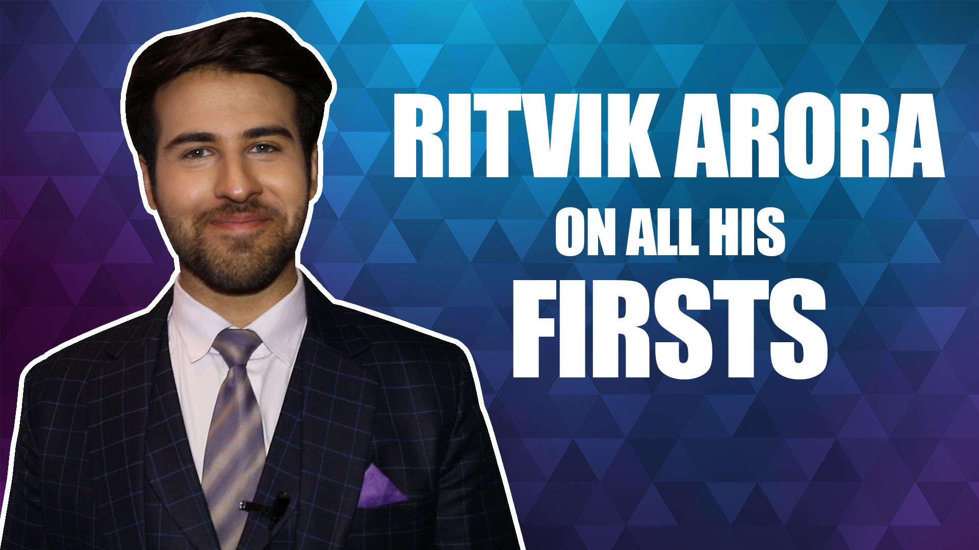 All My Firsts Ft  Ritvik Arora |Yeh Rishtey Hain Pyaar Ke| |Exclusive|
