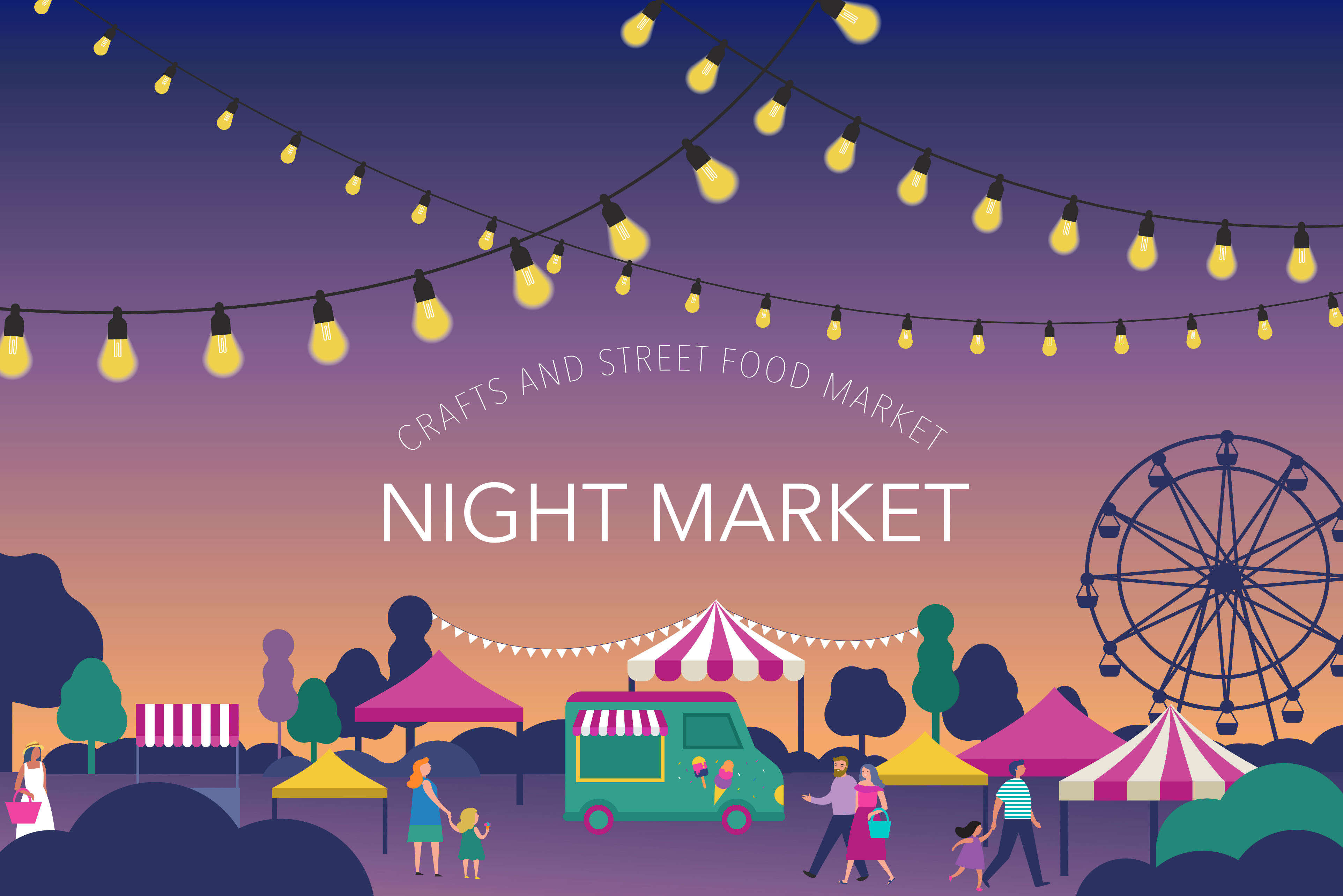 5 famous night markets in the world