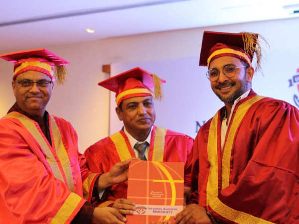 Terence Lewis conferred with Honorary Doctor degree
