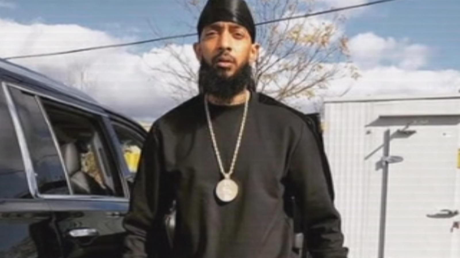 Rapper Nipsey Hussle shot dead in Los Angeles
