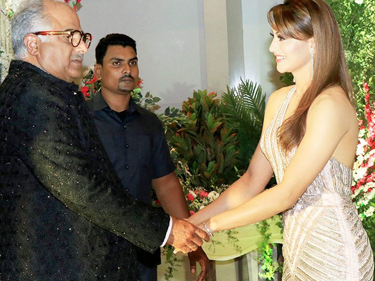 Image result for urvashi rautela with boney kapoor