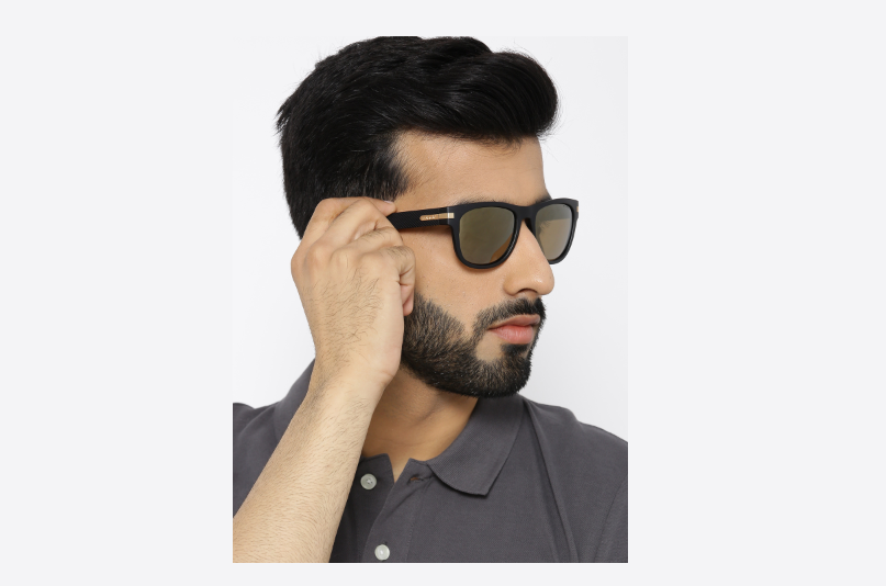 5a9a989429 Men s sunglasses  Must-have mirror lens wayfarers for your next vacation