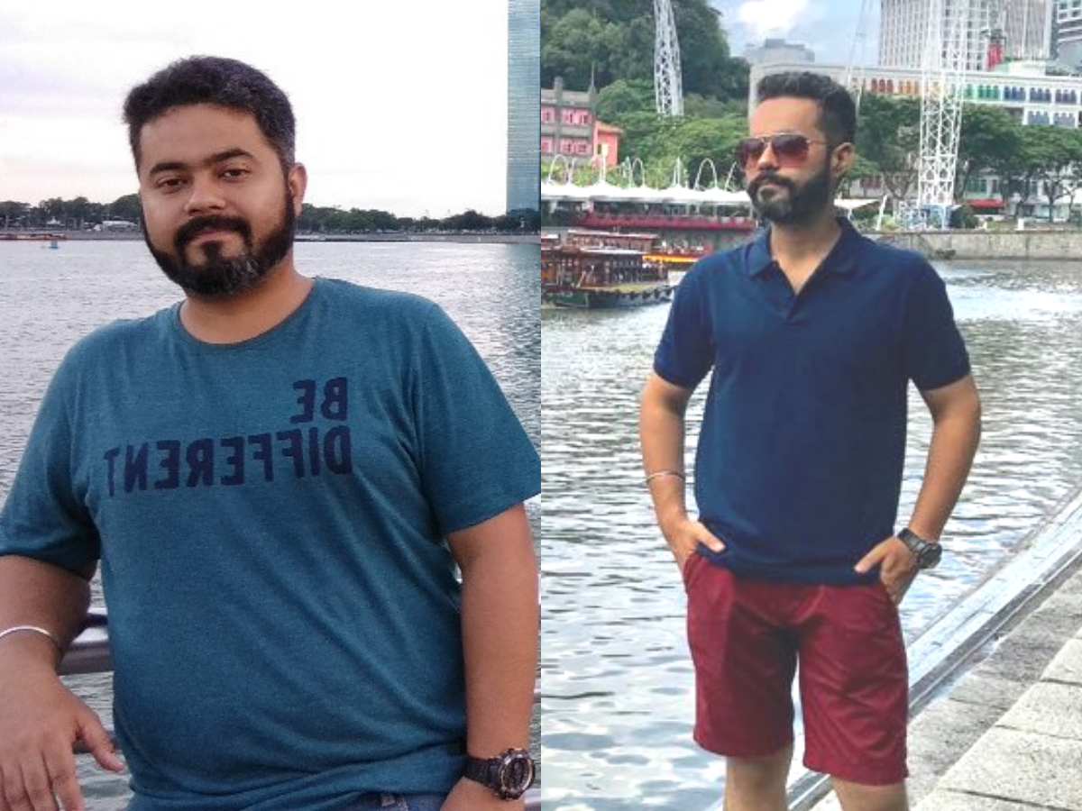 Weight loss: Here's how this junk food addict lost a MASSIVE 38