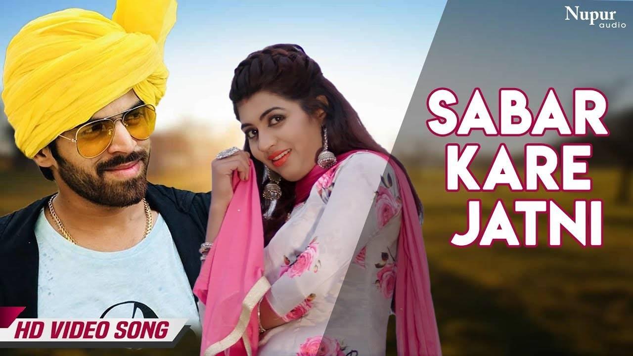 Latest Haryanvi Song Sabar Kare Jatni Sung By Masoom Sharma and Sheenam  Katholic