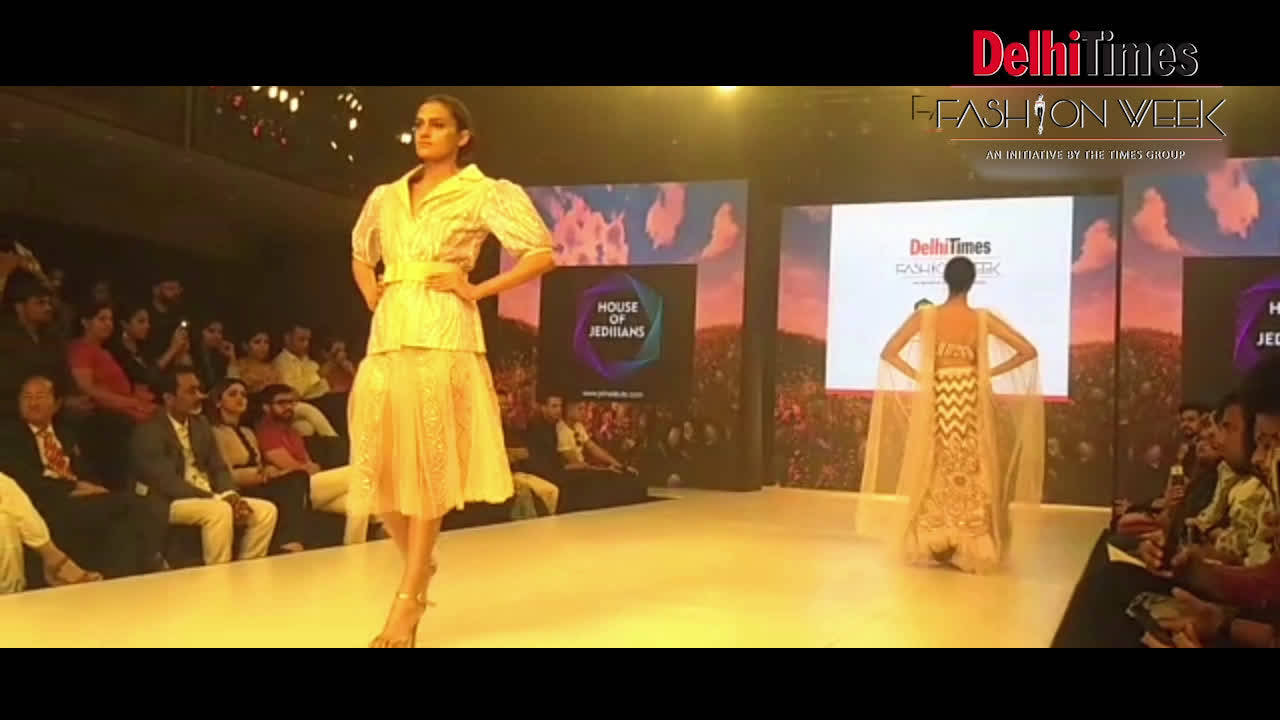 A Glamorous Beginning For Delhi Times Fashion Week 2019 Times Of India