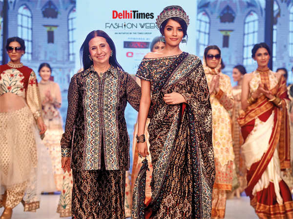 cbf7a95fd9ae1 Vintage meets modern at Delhi Times Fashion Week Day 2
