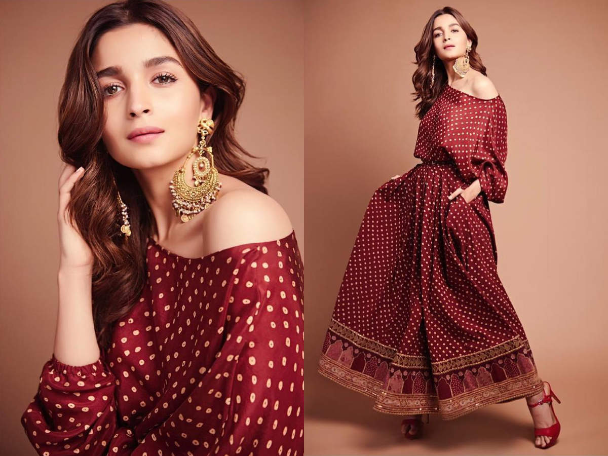 Alia Bhatt's off-shoulder gypsy dress is just what you ...