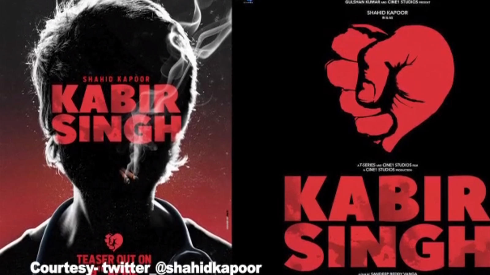 46d3a10f 'Kabir Singh' teaser out: Shahid Kapoor nails it with intense angry look |  Hindi Movie News - Bollywood - Times of India